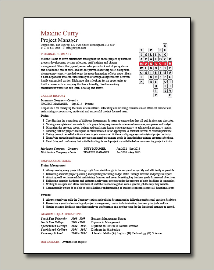 Project-Manager-Crossword-template-1-page