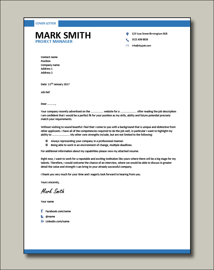 Project-Manager-modern-cover-letter-template-1
