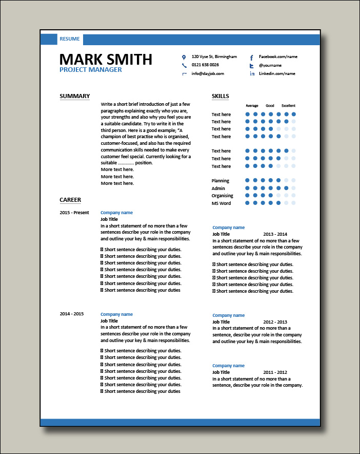 Project-Manager-modern-resume-template-1-2-page