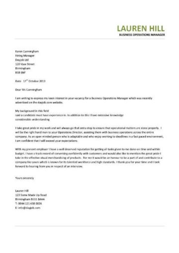 business operations manager cover letter 3