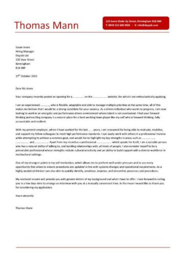 business operations manager cover letter 7
