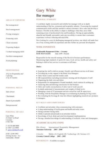 hospitality cv templates  free downloadable  hotel receptionist  corporate hospitality  cv writing