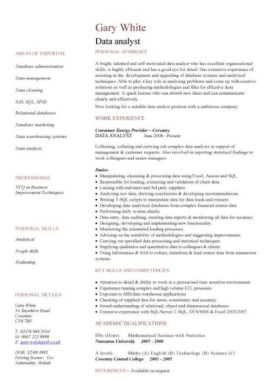 It Cv Template Cv Library Technology Job Description Java Cv Resume Job Applications Cad