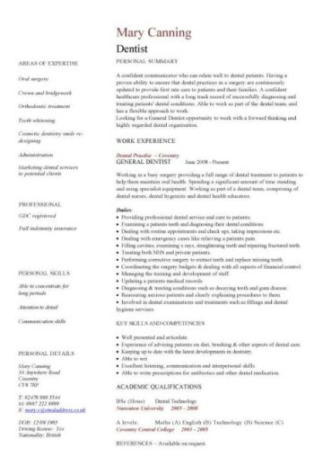 Medical CV template, doctor, nurse CV, medical jobs ...