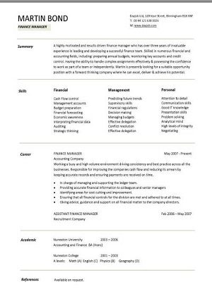 pic_finance_manager_cv_template