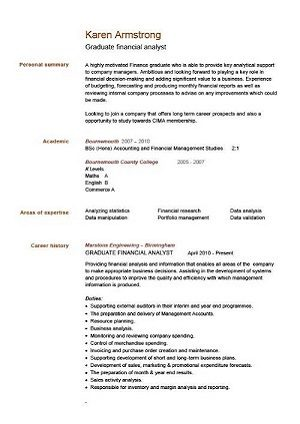 pic_graduate_financial_analyst_cv_example