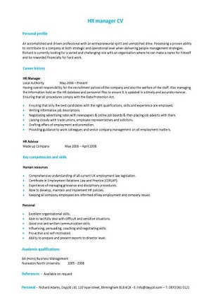 Free Cv Examples Templates Creative Downloadable Fully