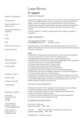 It Cv Template Cv Library Technology Job Description Java Cv