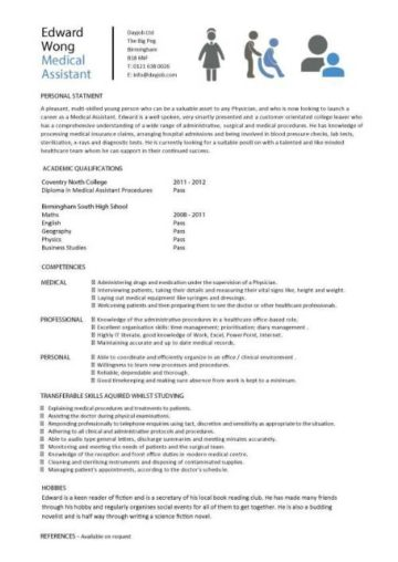 student cv template samples  student jobs  graduate cv  qualifications  career advice