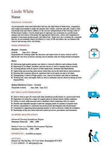 nurse CV template 3