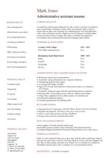 Pic Student Resume 2 1