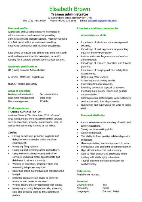 sample academic administrator cover letter