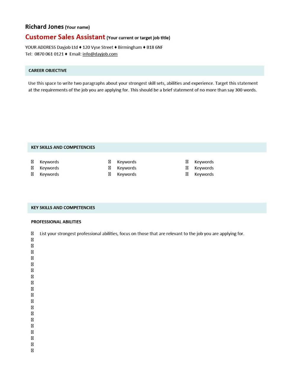 cv template examples writing a cv curriculum vitae templates cv