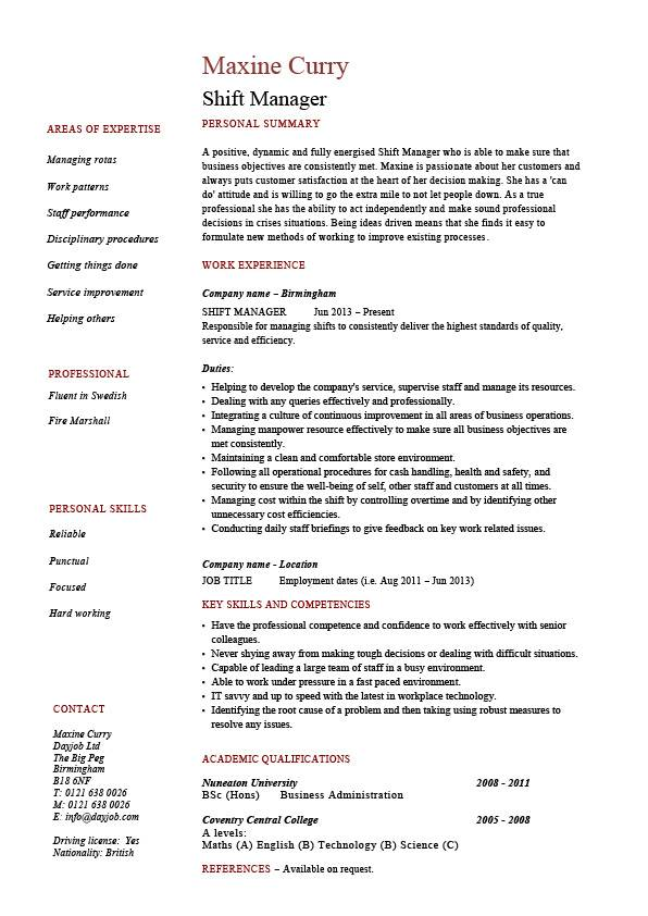 restaurant team leader resume  restaurant team leader job