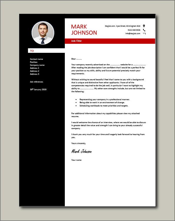 elegant looking cv template  resume