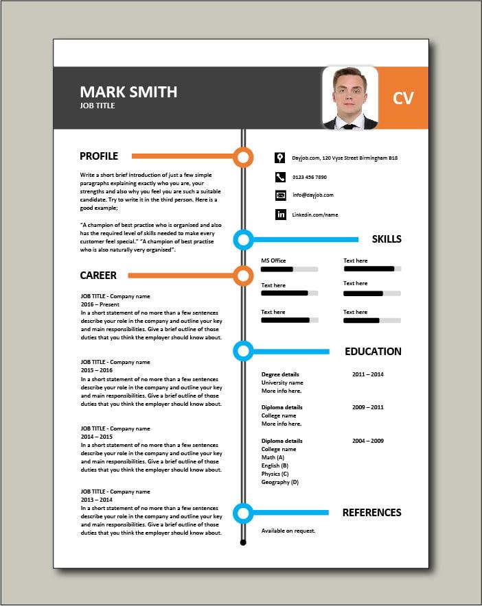 Free CV template 26