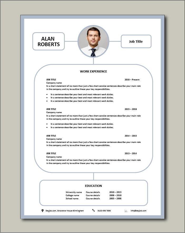 Free CV template 77