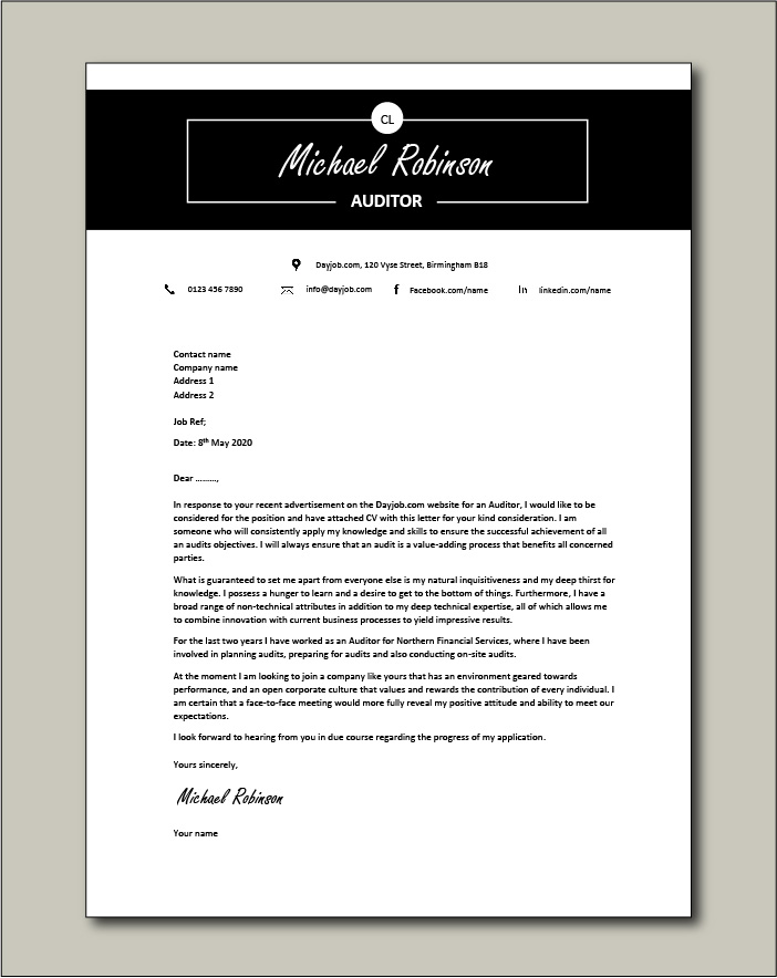 Finance Manager Resume Cover Letter from www.dayjob.com