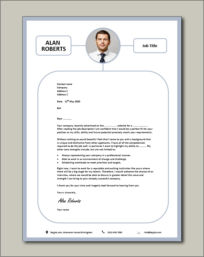 Free Cover letter example 74
