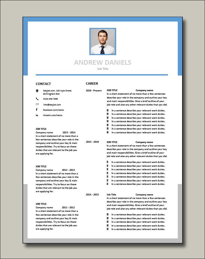 Premium template 59 Career